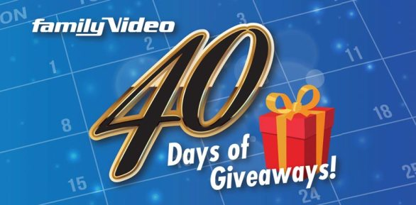 Family Video 40 Days Of Giveaway - Enter To Win A Collection Of Six Video Games