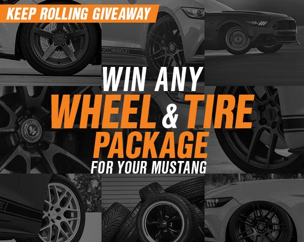 American Muscle Keep Rolling Giveaway – Win Ford Mustang