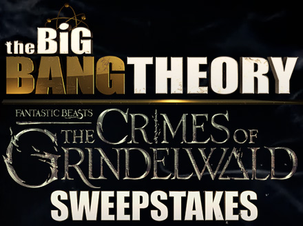 Big Bang Theory Fan-Tastic Beasts Sweepstakes - Chance To Win A Trip To London