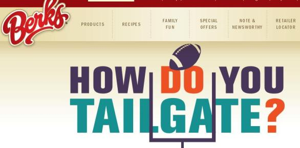 Berks How Do You Tailgate Sweepstakes – Win $500 Pre-Paid Gift Card