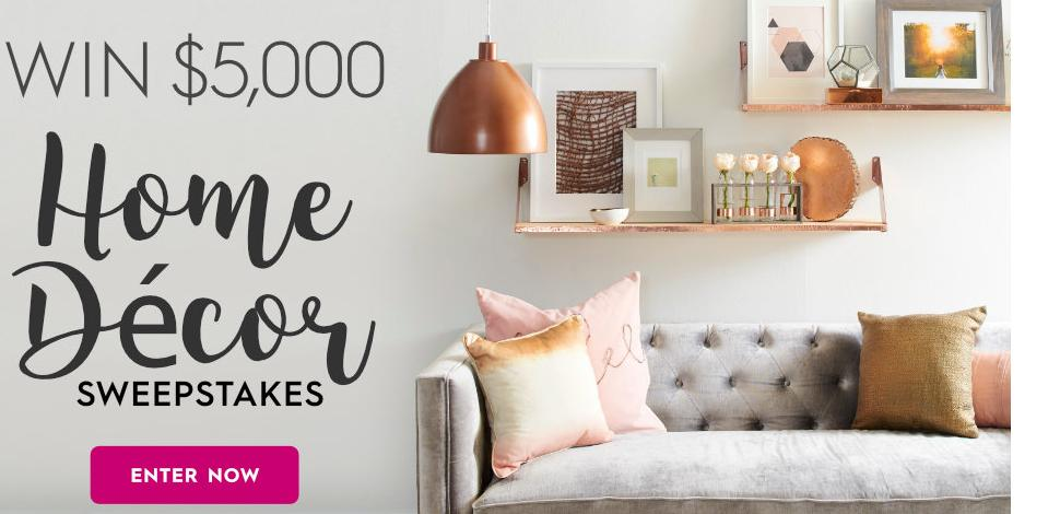 Better Homes And Gardens Sweepstakes >> Better Homes And Gardens 5 000 Fall Winter Sweepstakes Win A