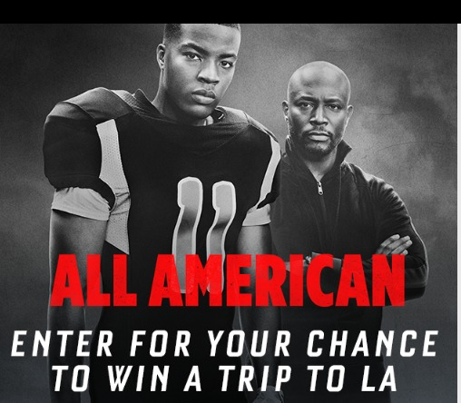 CW Network All American Watch Party Sweepstakes - Chance To Win A Trip To Los Angeles
