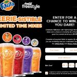 Coca-Cola Freestyle 2018 Fanta Halloween Instant Win Game – Win Promo Code
