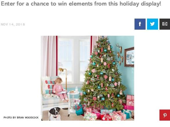 Country Living Find The Horseshoe December 2018 Sweepstakes