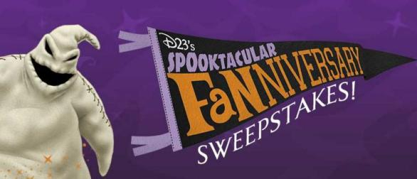 D23's Spooktacular Fanniversary Sweepstakes – Win Funko, shopDisney $100 Gift Card