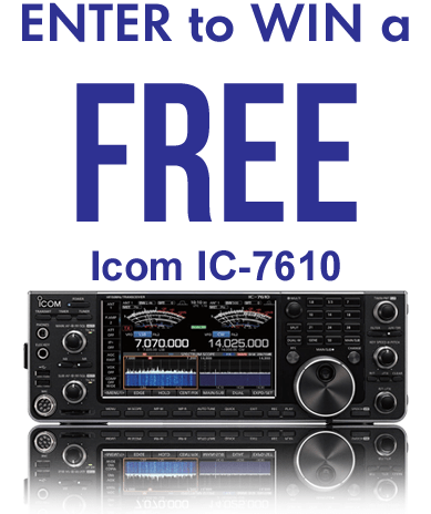 GigaParts Sweepstakes - Chance To Win Icom IC-7610
