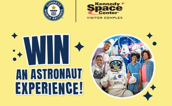 Guinness World Records Astronaut Experience Sweepstakes – Win A Trip Prize