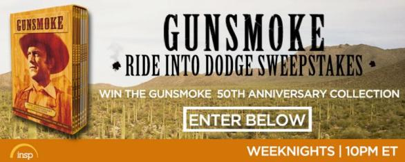 Gunsmoke Ride Into Dodge Sweepstakes – Win Prize Package