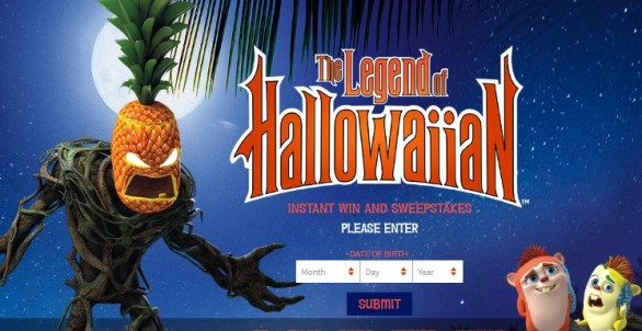King's Hawaiian Legend of Hallowaiian Instant Win Game & Sweepstakes - Enter To Win A Trip To Oahu