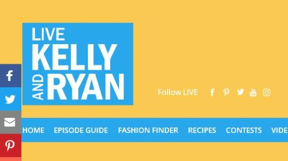 LIVE With Kelly & Ryan FANtastic Web Trivia Sweepstakes