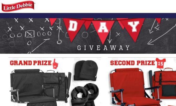 Little Debbie Game Day Giveaway – Win Gildan DryBlend Fleece Stadium Blankets
