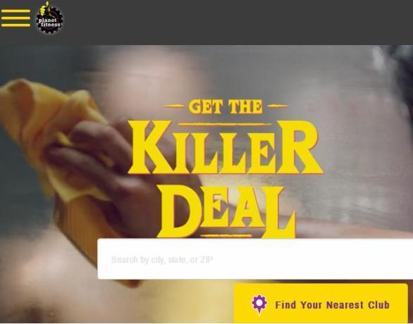 The Planet Fitness Get The Killer Deal Sweepstakes – Win A Trip Prize