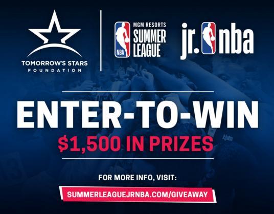 Summer League Jr. NBA Giveaway – Win $500 Amazon Gift Card