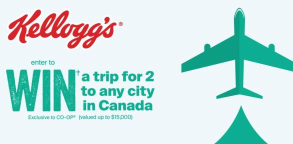 The Kellogg's Breakfast In Contest – Win A Trip To Any Destination In Canada