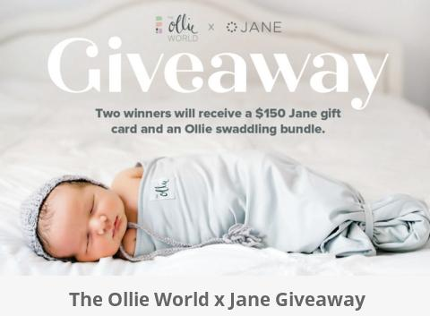 The Ollie World X Jane Giveaway – Win $150 Jane Gift Card