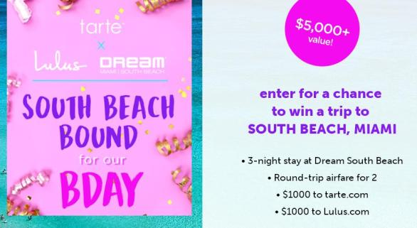 The South Beach Bound Sweepstakes