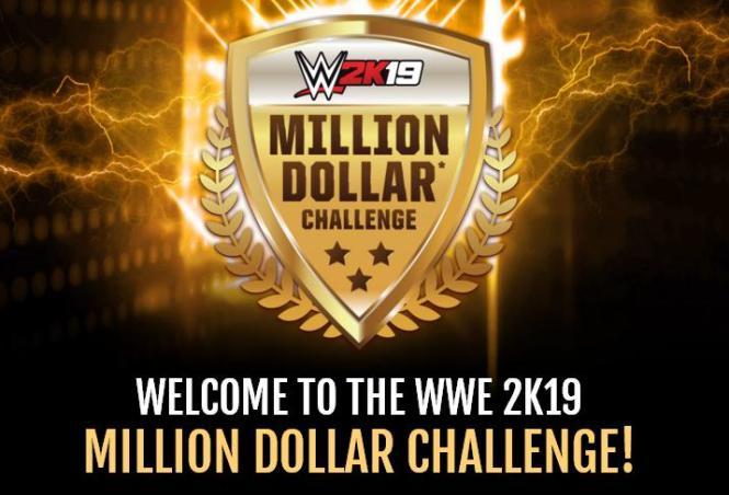 WWE 2K19 Million Dollar Challenge Contest – Win One Million