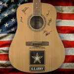 Country Rebel Clothing Giveaway - Chance To Win A Six-String Soldiers Signed Guitar