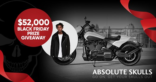 Absolute Skulls Giveaway - Enter To Win $52,000 Black Friday Gift Bonanza