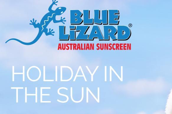 Blue Lizard Australian Sunscreen Holiday In The Sun Sweepstakes – Win A Gift Card