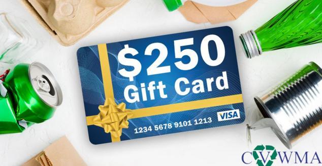 CBS 6 CVWMA $250 Visa Gift Card Sweepstakes