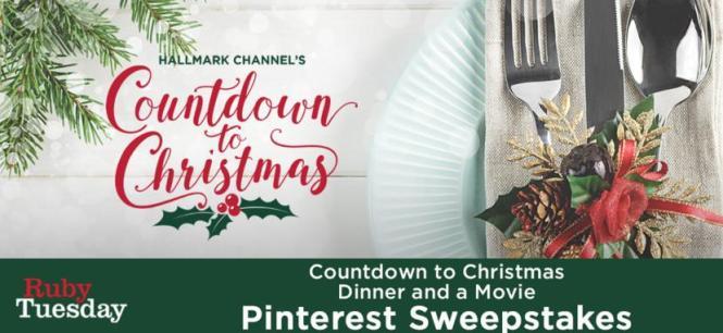 Countdown To Christmas Movies Pinterest Sweepstakes