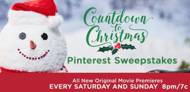 Countdown To Christmas Pinterest Sweepstakes