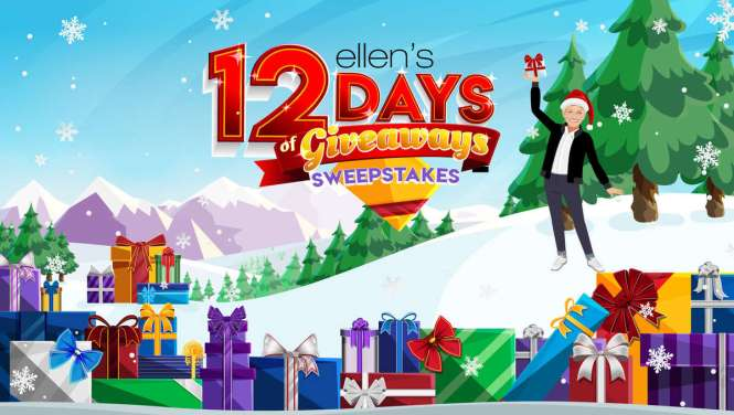 Ellen Degeneres Show 12 Days of Giveaways Trip Sweepstakes