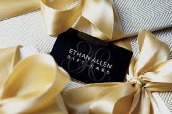 Ethan Allen $1000 Gift Card Giveaway