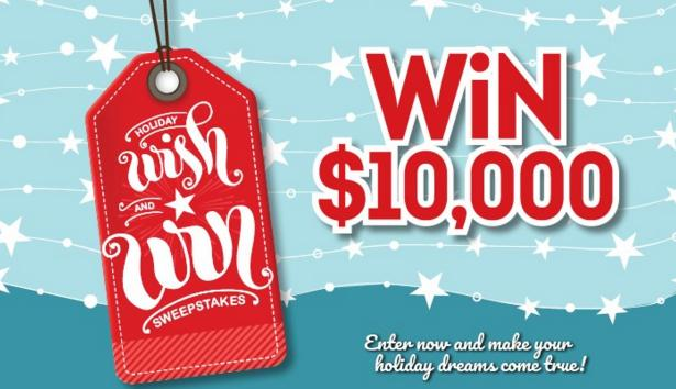 GateHouse Media Holiday Wish And Win Sweepstakes
