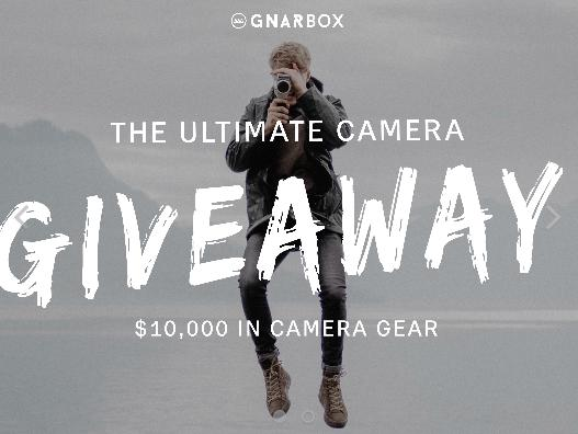 Gnarbox Ultimate Camera Giveaway