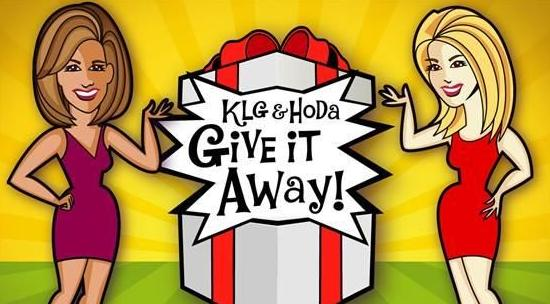 Kathie Lee and Hoda's Give It Away Sweepstakes