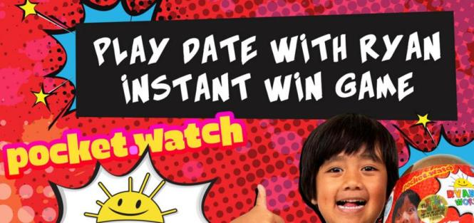 Play Date With Ryan World Instant Win Game