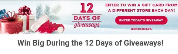 Saving.com 12 Days of Giveaways