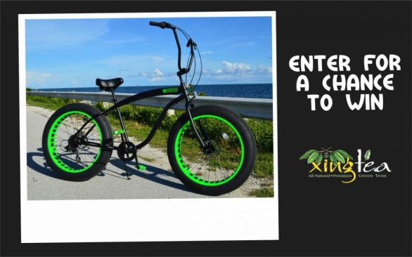 Hensley The Xing Tea Bike Sweepstakes - Enter To Win A Sikk Fat Tire Bicycle