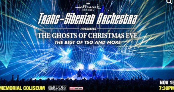 Trans-Siberian Orchestra Ticket and Signed Guitar Giveaway