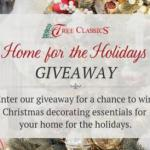 Tree Classic's Home For The Holidays Giveaway