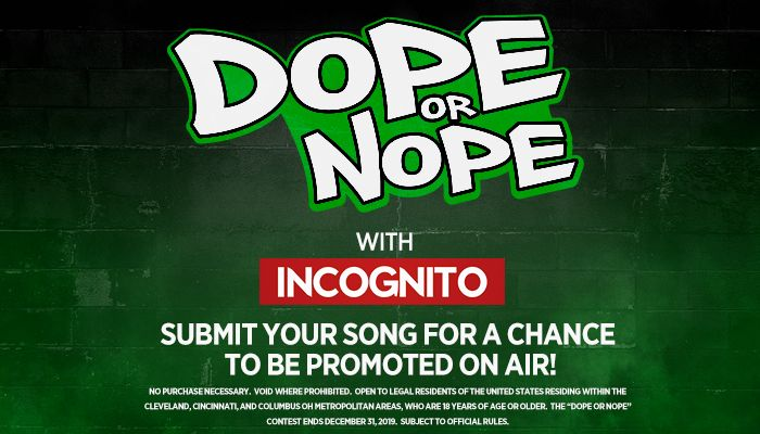 Ohio's Dope or Nope Contest – Win On-air Recognition With A Promo