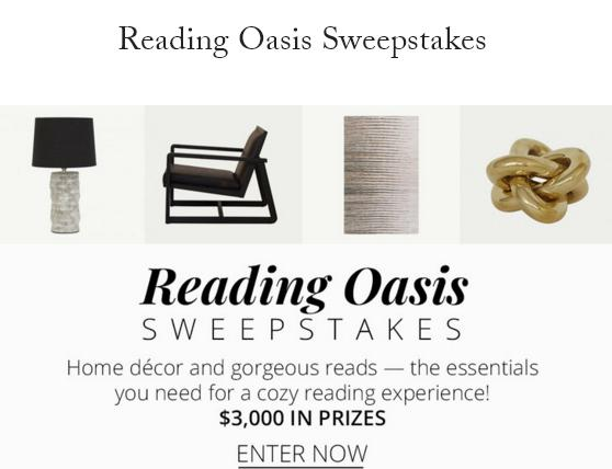 Dering Hall Reading Oasis Sweepstakes
