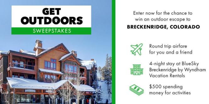 History Get Outdoors Sweepstakes