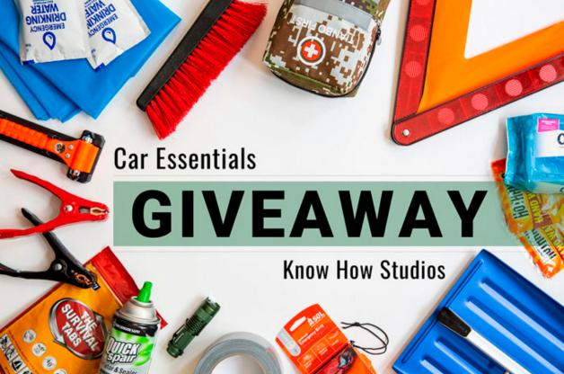 Know How Studios Car Essentials December Giveaway