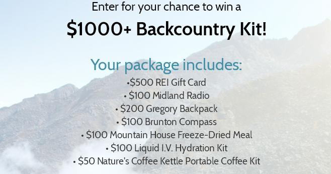 The Dyrt Backcountry Camping Kit Giveaway