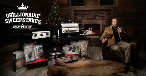 Camp Chef Grillionaire Sweepstakes - Chance To Win Woodwind SG Pellet Grill, Hardwood Pellet, Cast Iron Set And More