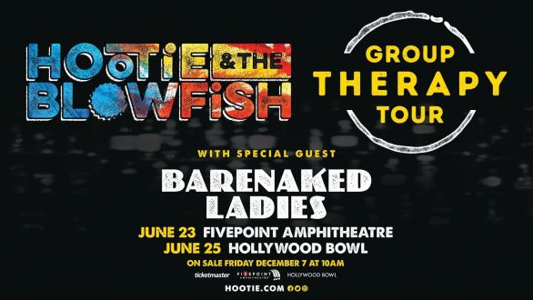 Hootie and the Blowfish Giveaway - Stand To Win Two Tickets