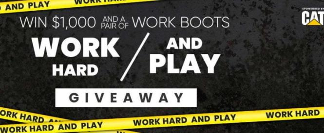 CAT Work Hard And Play Sweepstakes
