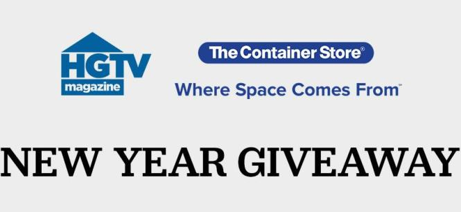 HGTV The Container Store Sweepstakes