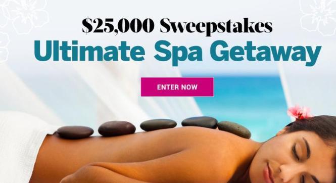 Health 25,000 Ultimate Spa Getaway Sweepstakes