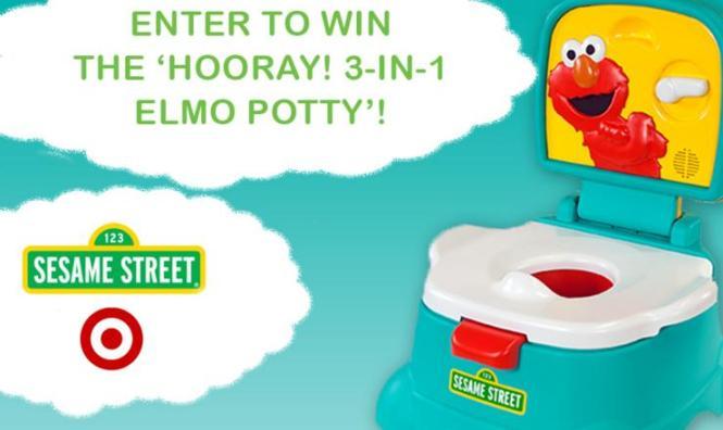 Kolcraft Elmo Hooray 3-in-1 Potty Giveaway
