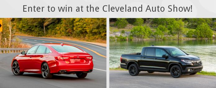 2019 Cleveland Auto Show Official Vehicle Lease Giveaway – Win A 36-Month Lease