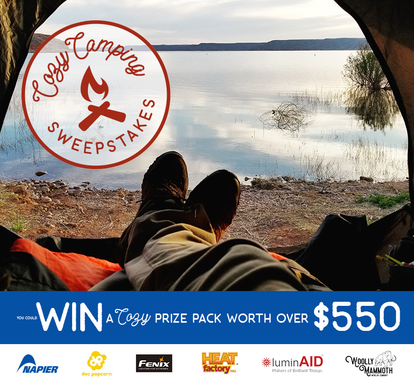 Napier Outdoors Cozy Camping Sweepstakes – Win Sportz Cove Tent And Fire Fly USB